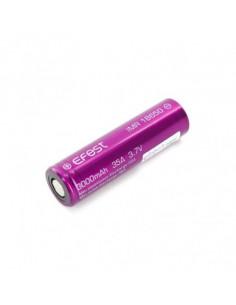 Accu rechargeable 18650 3000mAh 35A flat top - Efest