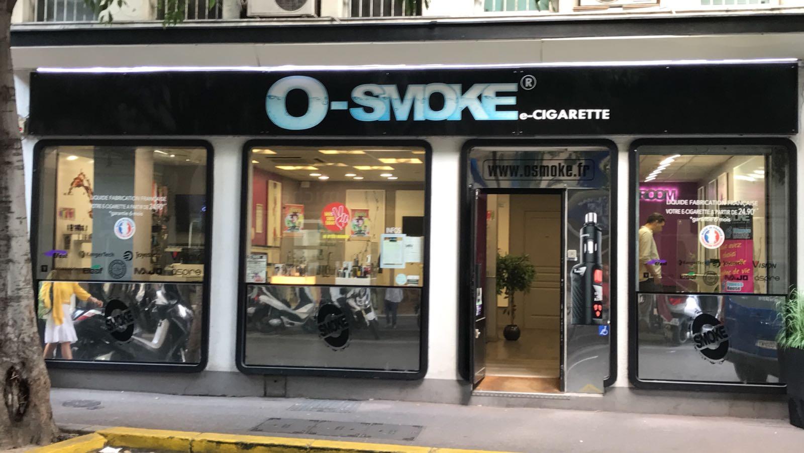 magasin O'smoke Antibes
