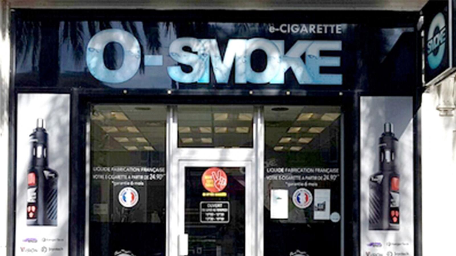 magasin O'smoke Cannes-la-Bocca