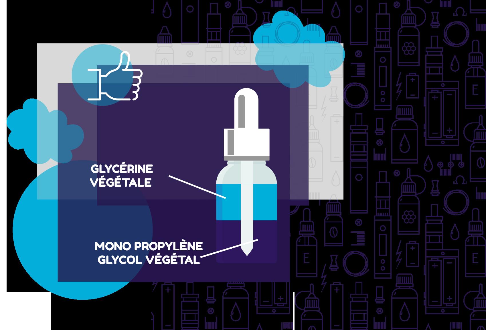 composition d'un produit e-liquide