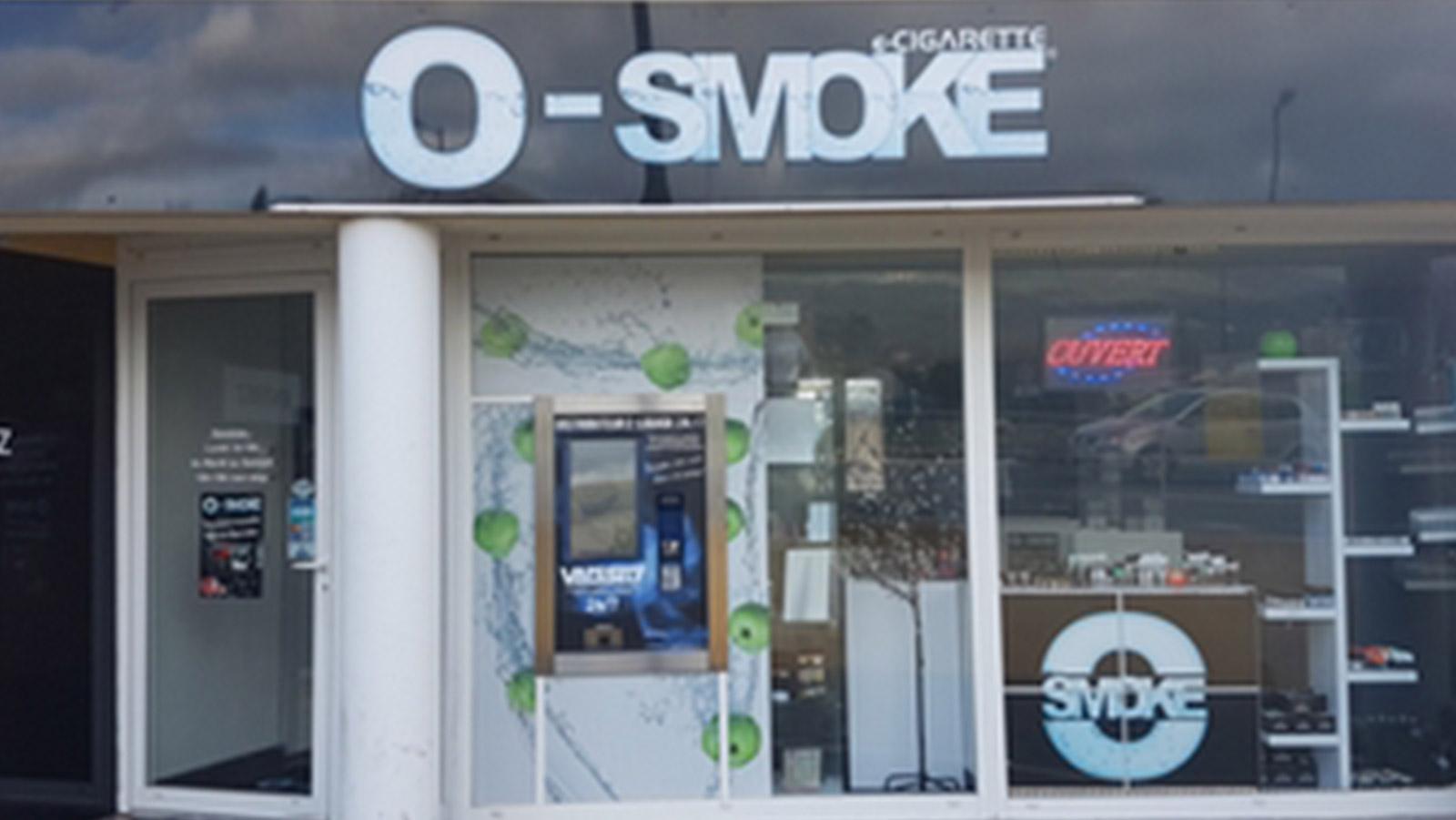 magasin O'smoke Grasse