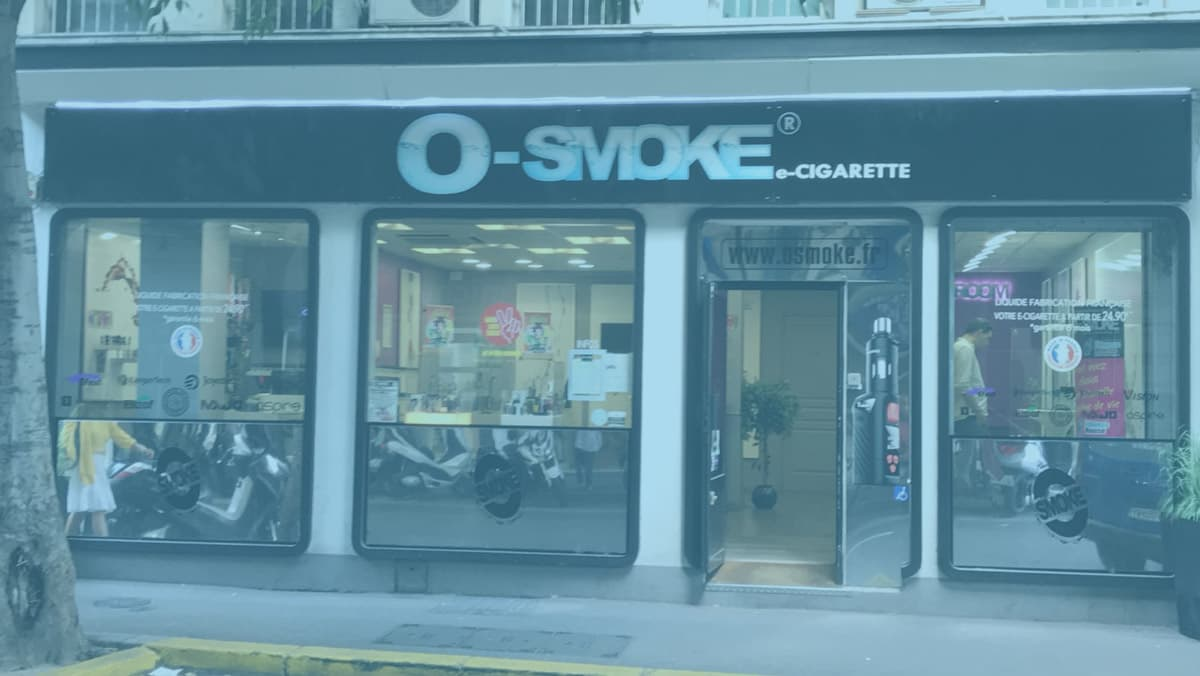 magasin O'smoke Antibes