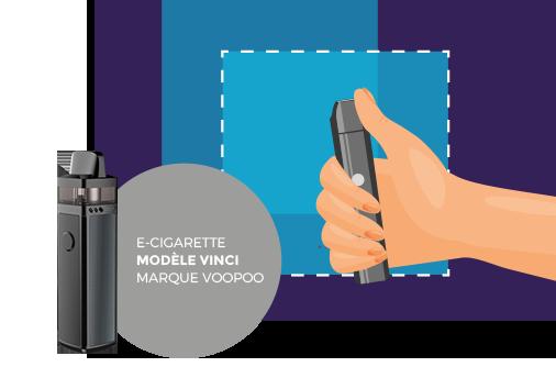 modèle e-cigarette marque voopoo