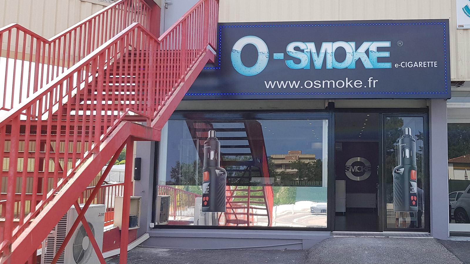 magasin O'smoke Villeneuve-Loubet